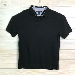 Tommy Hilfiger Men Polo Golf Shirt Custom Fit